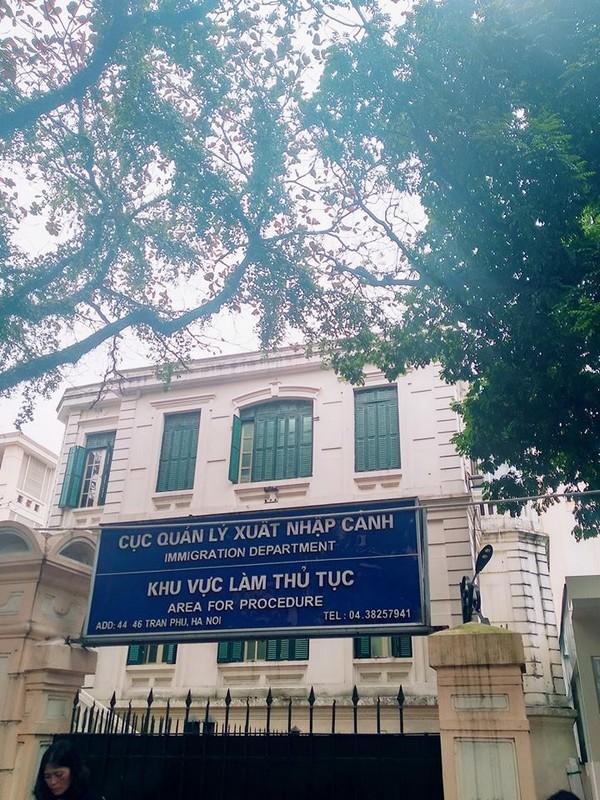 Vietnam Immigration Department in Hanoi
