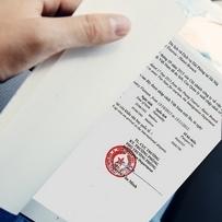 Step 3 - Receive visa approval letter